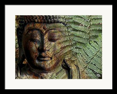 Digital Collage Art Framed Prints