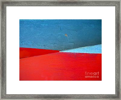 Framed Print featuring the photograph Convergence by Robert Riordan