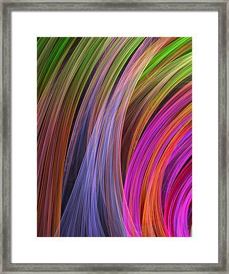 Convergence Framed Print by RochVanh