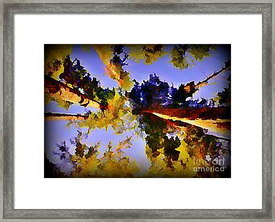 Convergent Perspective Framed Print by John Malone Halifax Artist