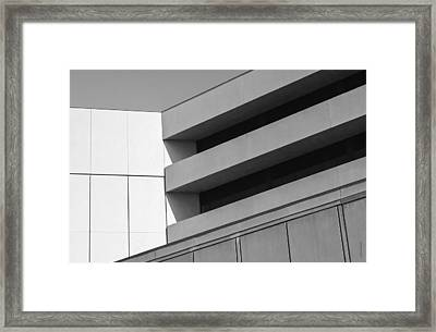Converging Lines - Urban Abstracts Framed Print