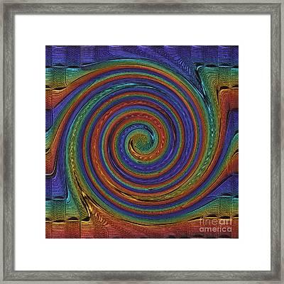 Converging Multi Framed Print