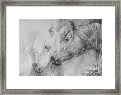Conversation II Framed Print