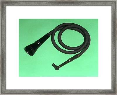 Conversation Tube Framed Print