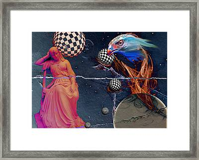 Conversations With Cassiopeia Framed Print
