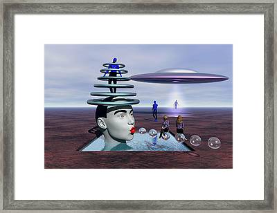 Conversion Of Man Framed Print by Robert Maestas