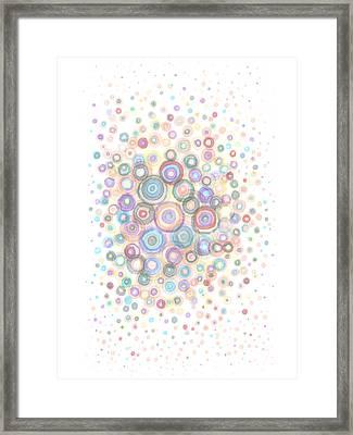 Convexity Framed Print by Regina Valluzzi