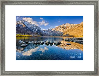 Convict Lake 2 Framed Print