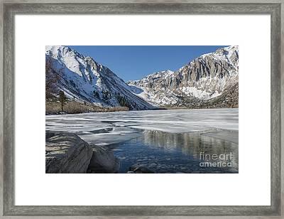 Convict Lake Morning Framed Print by Sandra Bronstein