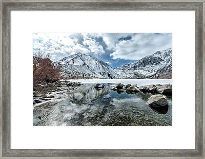 Convict Lake One Framed Print by Josh Whalen