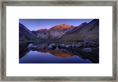 Convict Lake Framed Print by Sean Foster