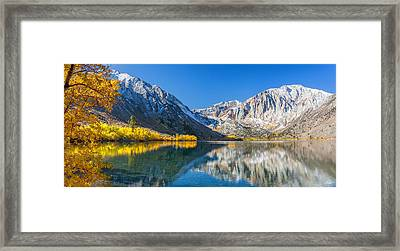 Convict Lake Framed Print