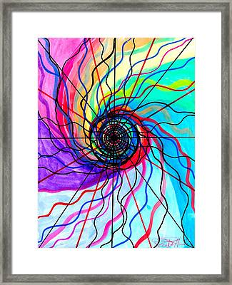 Convolution Framed Print