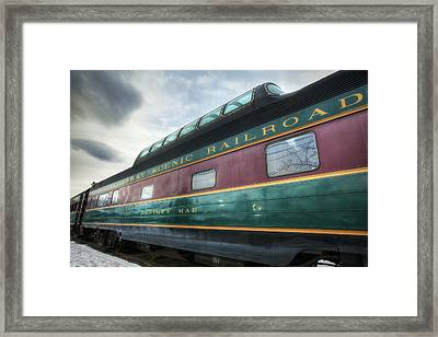 Conway Scenic Railroad Framed Print by Eric Gendron