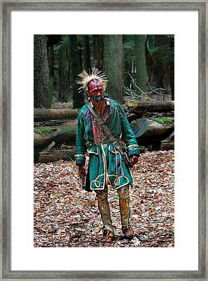 Cook Forest Native American 2013 Framed Print by Randy Steele