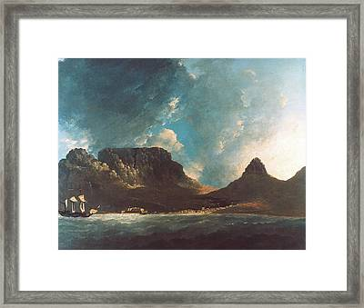 Cook Table Bay, 1772 Framed Print by Granger