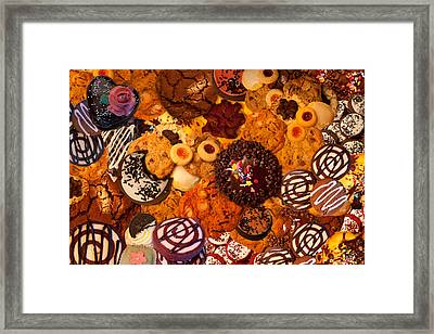 Cookie Crazy 2  Framed Print by Alixandra Mullins