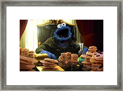 Cookie Montana Framed Print