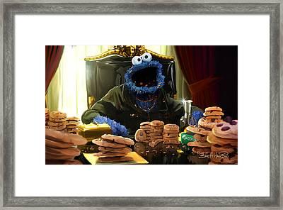Cookie Montana Framed Print by Brett Hardin