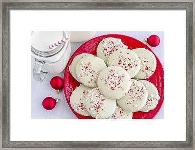 Cookies For Santa Framed Print by Teri Virbickis
