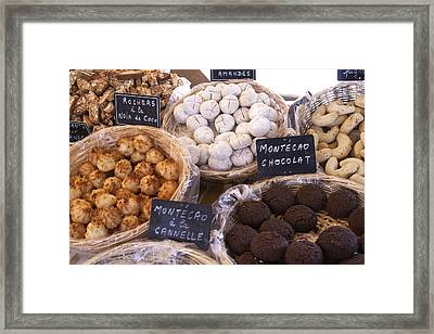 Cookies Of Provence Framed Print