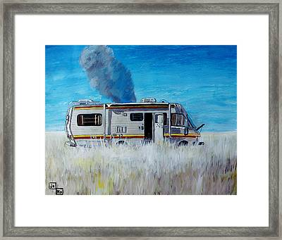 Cooking Framed Print by Jeremy Moore