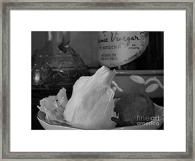 Cooking Framed Print by Juergen Roth
