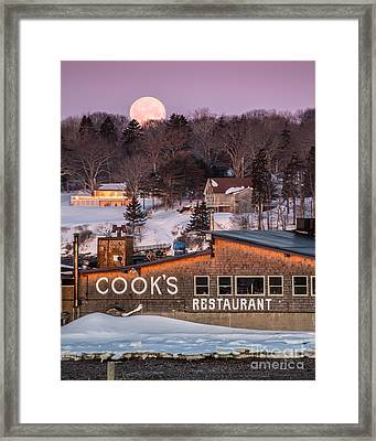 Cook's Full Moon Framed Print by Benjamin Williamson