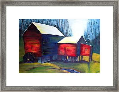 Cook's Mill Framed Print by Alicia Tanner