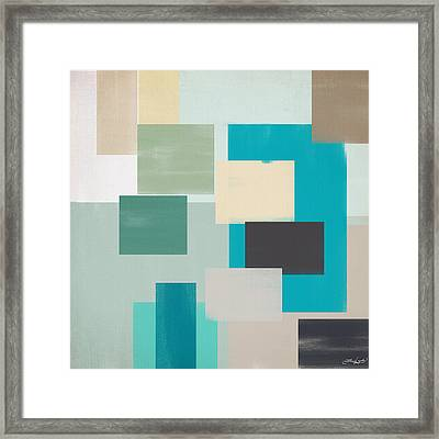 Cool And Calm Framed Print