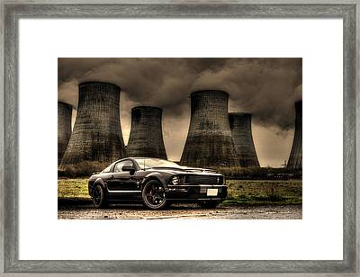 Cool And Cooling Framed Print by Chris Whittle