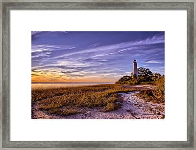 Cool And Warm Framed Print by Mark Wright