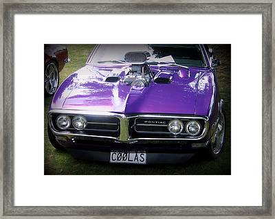 Cool As Framed Print