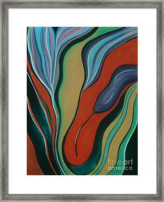 Cool Ascension Framed Print
