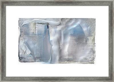 Cool Azure 2 Framed Print