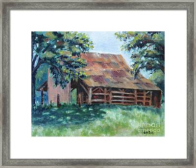 Cool Barn Framed Print by William Reed