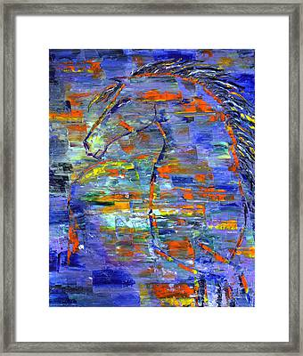 Cool Breeze Framed Print
