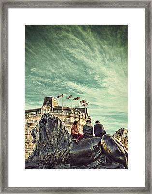 Cool Britannia Framed Print by Jasna Buncic