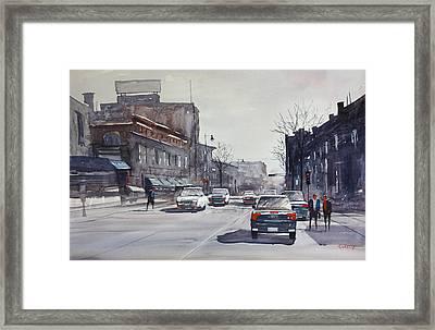 Cool City Framed Print by Ryan Radke