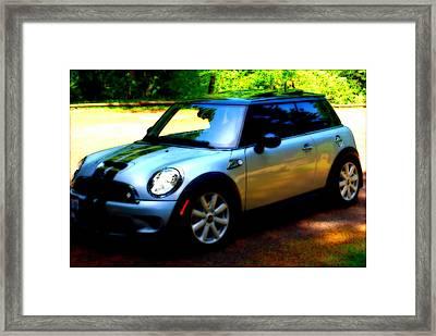 Cool Cooper Sport Framed Print by Kathy Sampson