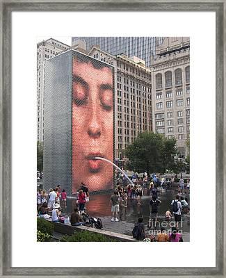 Cool Crowd Framed Print by Ann Horn