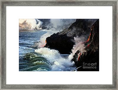 Cool Down Framed Print by Karl Voss