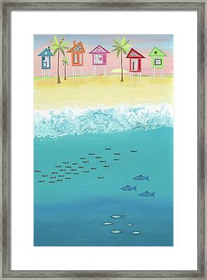 Cool For School Framed Print by Jennifer Peck