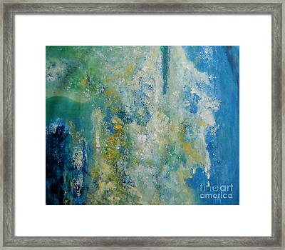 Cool Harmony Framed Print