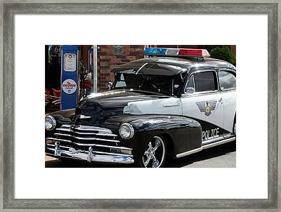 Cool Heat On The Street Framed Print