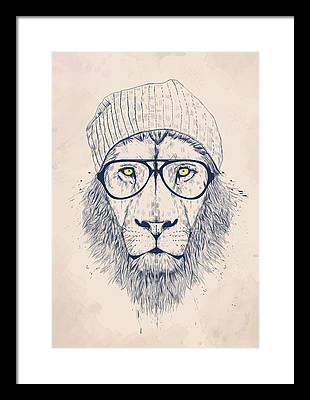 Lions Framed Prints