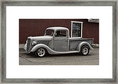 Cool Little Ford Pick Up Framed Print