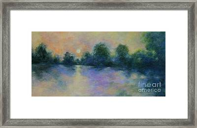 Cool Morning Framed Print
