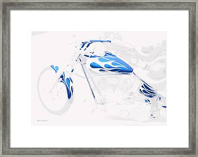 Cool Motorcycle Framed Print
