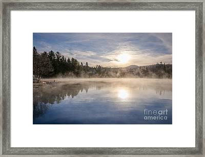 Cool November Morning Framed Print by Jola Martysz